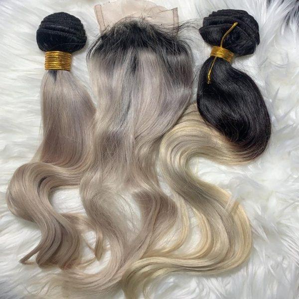 Lovely bundles of hair